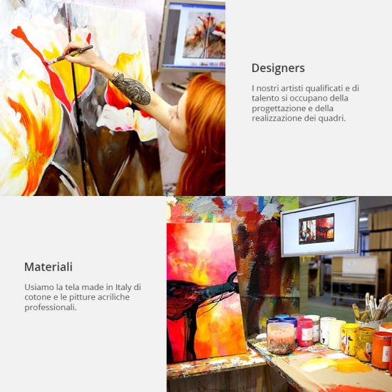Artgeist Handmade painting Duskiness full of e is a product on offer at the best price