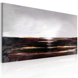 Artgeist Handmade painting Black ocean is a product on offer at the best price