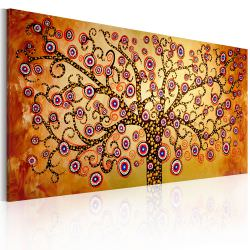 Artgeist Handmade painting Peacock tree is a product on offer at the best price