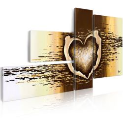Artgeist Handmade painting Love flight is a product on offer at the best price