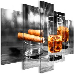 Tableau Cigars and Whiskey 5 Parts