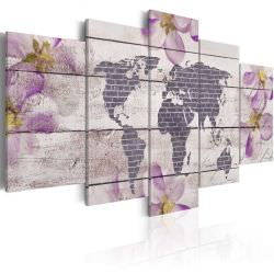 Tableau Romantic World Map