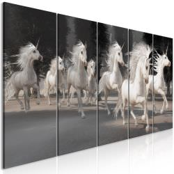 Tableau Unicorns Run 5 Parts Narrow