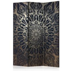 Biombo Spider Web Brown Room Divid