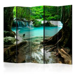 Room Divider Crystal Clear Water II [