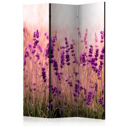 Room Divider Lavender in the Rain [Ro