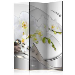 Room Divider Pearl Dance of Orchids [