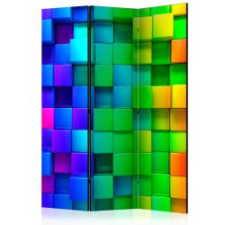 Room Divider Colourful Cubes [Room Di