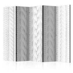 Biombo White Knit II Room Dividers