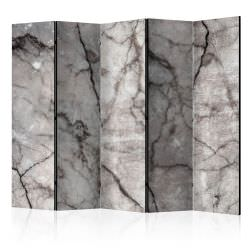 Paravent 5 volets Grey Marble II Roo