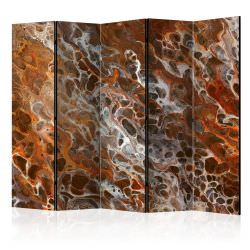 Biombo Brown Craters II Room Divider