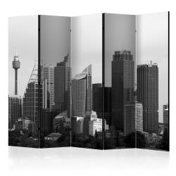 Paravent 5 volets Skyscrapers in Sydn