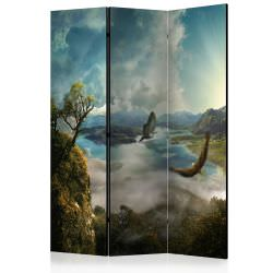 Room Divider Flight over the Lake [Ro