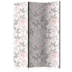 Room Divider Watercolor Roses [Room D