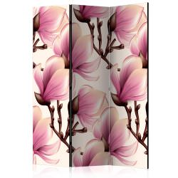 Room Divider Blooming Magnolias [Room