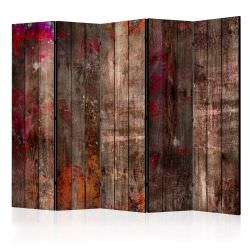 Biombo Stained Wood II Room Dividers