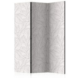 Room Divider Colourless Leaves [Room