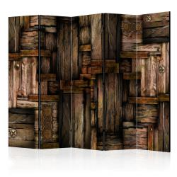 Room Divider Wooden puzzle II [Room D