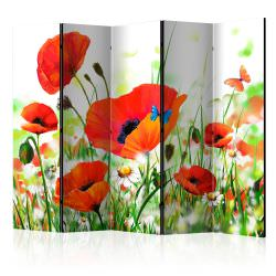 Biombo Country poppies II Room Divid