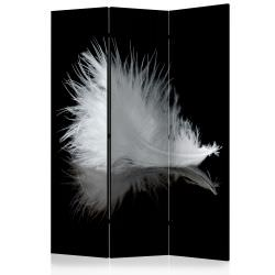 Room Divider White feather [Room Divi