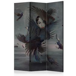 Room Divider Covered in feathers [Roo
