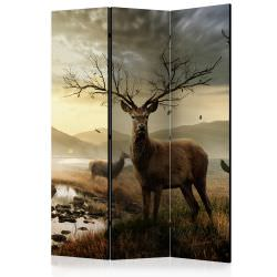 Room Divider Deers by mountain stream