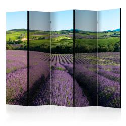 Biombo Lavender fields II Room Divid