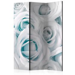 Room Divider Satin Rose Turquoise [