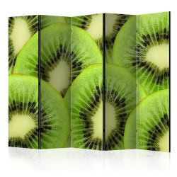 Paravent 5 volets Kiwi slices II Roo