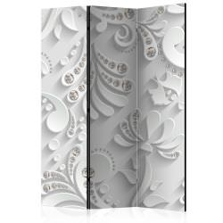 Room Divider Flowers with Crystals [R