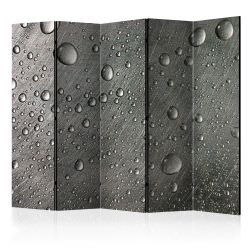 Biombo Steel surface with water drops