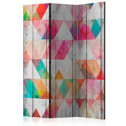 Room Divider Rainbow Triangles [Room