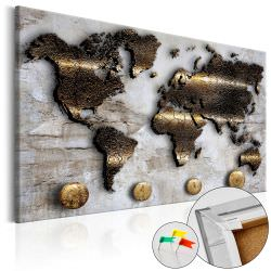 Artgeist Decorative Pinboard Golden Journey [C is a product on offer at the best price