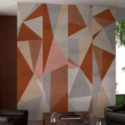 Artgeist Wallpaper Triangles composition is a product on offer at the best price
