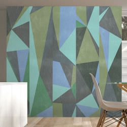 Artgeist Wallpaper Gray triangles is a product on offer at the best price