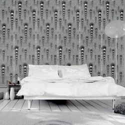 Artgeist Wallpaper Graphite icicles is a product on offer at the best price