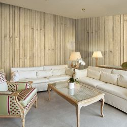 Artgeist Wallpaper Bahama yellow is a product on offer at the best price