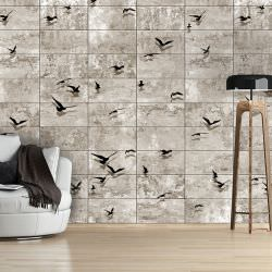 Artgeist Wallpaper Bird Migrations is a product on offer at the best price