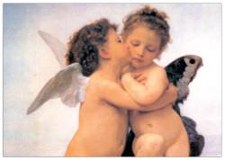 Quadro Decorativo The First Kiss Detail