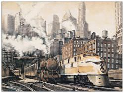 Quadro Decorativo The Station Chicago