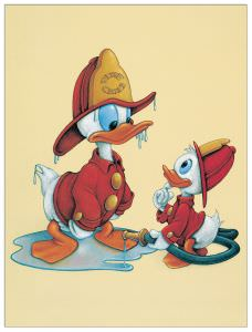 Quadro Decorativo Chief Donald Duck