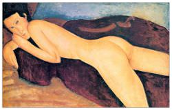 Quadro Decorativo Reclining Nude From The Back
