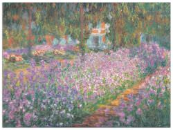 Quadro Decorativo Jardin A Giverny