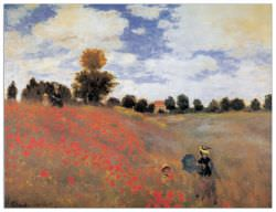 Quadro Decorativo Poppies Near Argenteuil