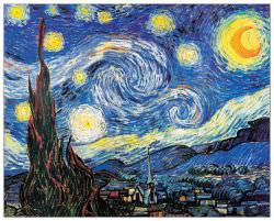 Quadro Decorativo Starry Night