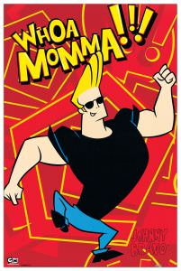 Quadro Decorativo Johnny Bravo