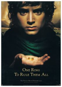 Quadro Decorativo Lord Of The Rings