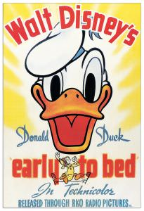 Quadro Decorativo Donald Duck