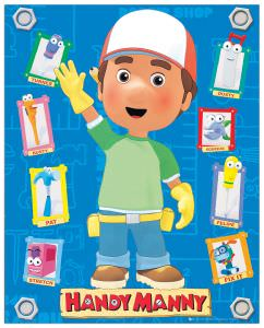 Quadro Decorativo Handy Manny