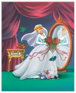 Quadro Decorativo Cinderella My Perfect Wedding